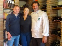 Massimo, Su Maestri e o Chef Daniele Fagioline do Antico Ristoro Le Colombaie
