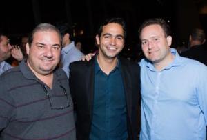 Claude Capdeville, Jaime Recena e Rodrigo Freire (divulgação)