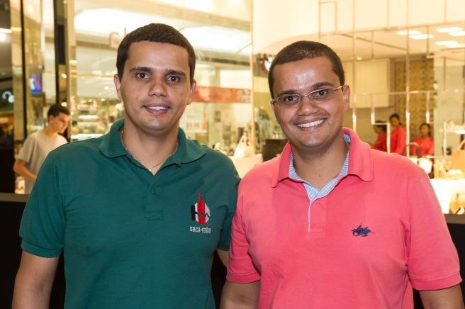 Augusto e Bruno César da Saca-Rolha Vinhos (Foto: Telmo Ximenes)