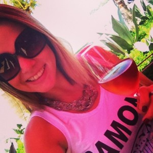 A jornalista Nathália Maestri, nova colaboradora do Vinho Capital
