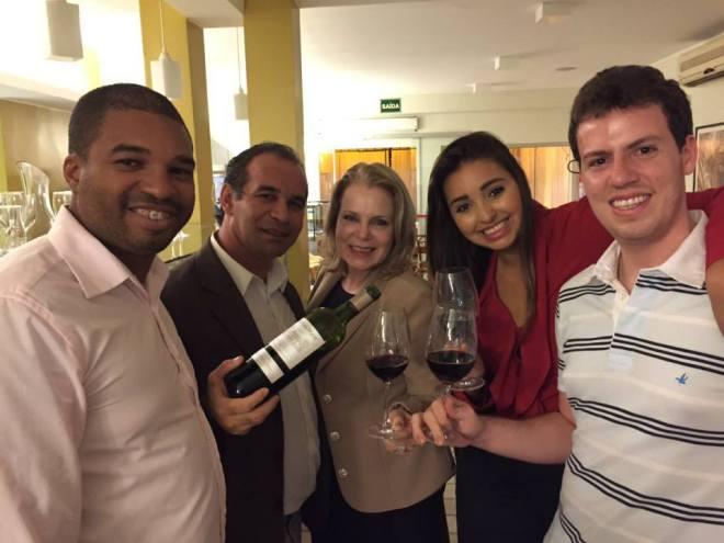 Renato Silva, Joaldo Lima, Su Maestri, Talita Côrtes e Ayrton Gissoni.