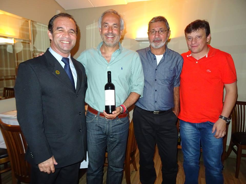 Joaldo Lima, Rui Cunha, Marcos Gomes e Marcos Rachelle