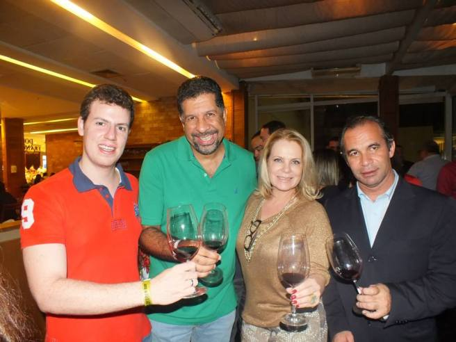Ayrton Gissoni, Petrus Elesbão e Joaldo Lima