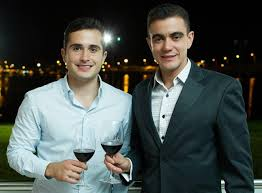 Os empresários Guto Jabour e Tiago Correia, idealizadores do Wine'n Music.