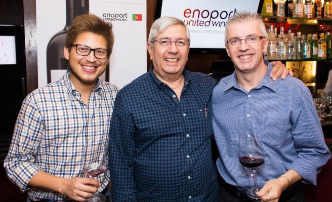 Rafael Sá, Gilvan Pires de Sá e Nelsir Carlos Kuffel da Enoport