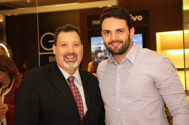 Rodrigo Leitão e César Santos, idealizadores do evento - crédito César Rebouças