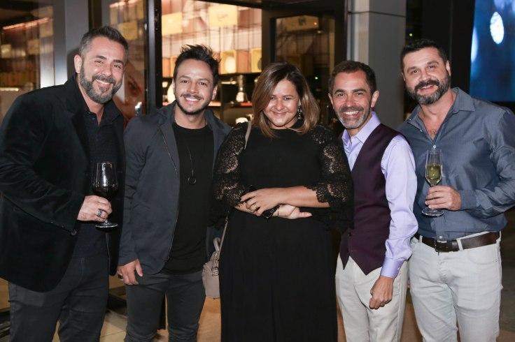 Alexandre Albanese, Otávio Soares, Luciana Barbo, César Serra e Cleber Martins.jpg