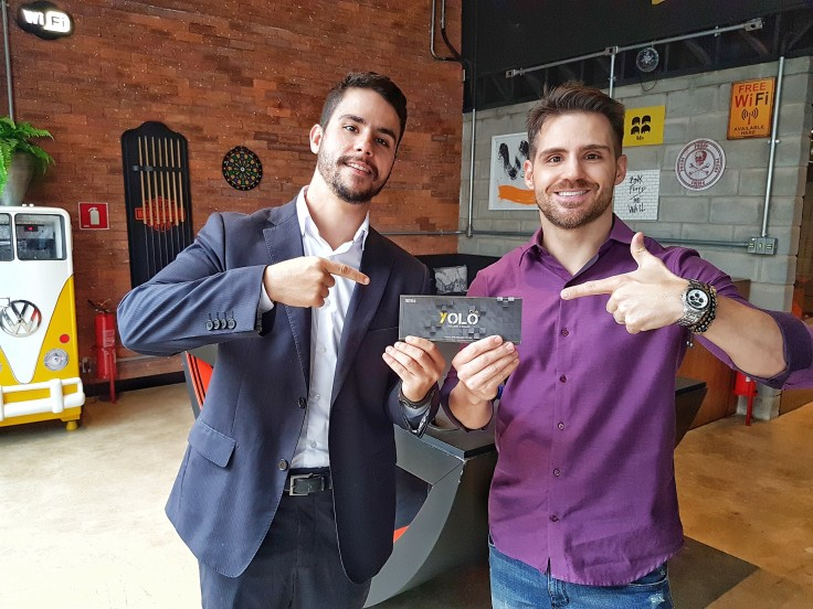 Victor Thomé e Nilvo Salvatori - Foto Divulgação YOLO Club (1)